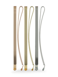 Large Metallic Bobby Pins - Pk 6