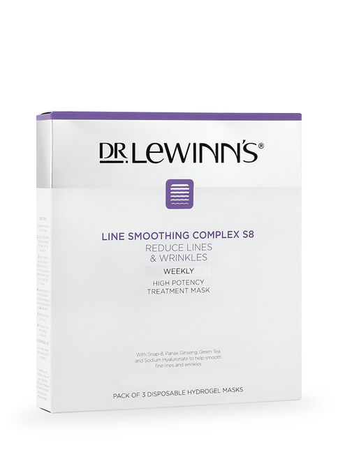 Line Smoothing Complex High Potency Treatment Mask 3pk