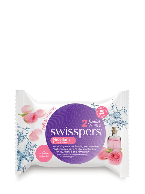 Micellar and Rosewater Facial Wipes 2 pack