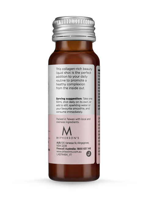 Marine Collagen Peptide+ Inner Beauty Liquid Shot - 10 x 50mL