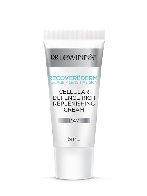 Recoverëderm Cellular Defence Rich Replenishing Cream Sample 5mL