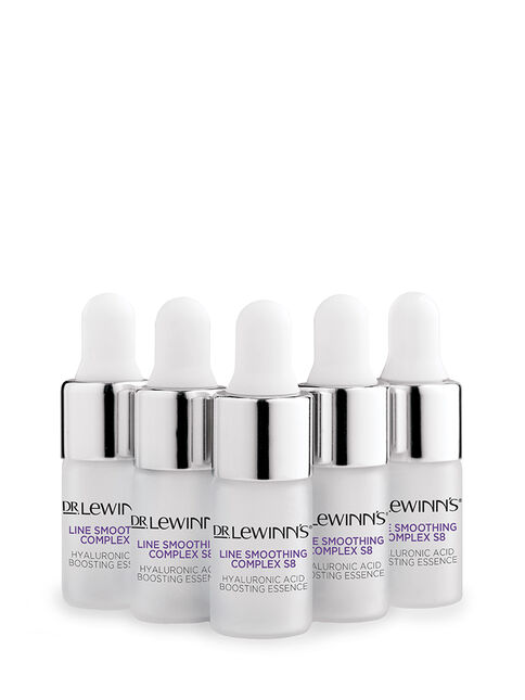 Hydration Booster Pack - Line Smoothing Complex Hyaluronic Acid Boosting Essence 5 Pack