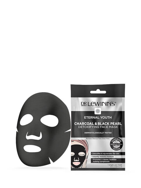 Eternal Youth Charcoal & Black Pearl Detoxifying Face Mask 1 pack