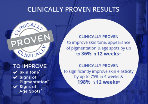 Dr. LeWinn's Reversaderm is clinically proven to improve skin tone, signs of pigmentation and signs of age spots.*