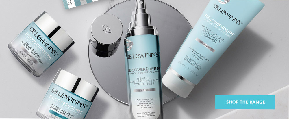 Discover Dr. LeWinn's Recoverederm - proAGE + Sensitive Skin