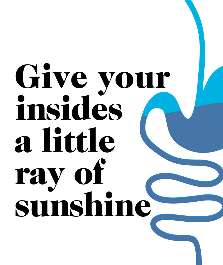 Give Your Insides A Little Ray Of Sunshine