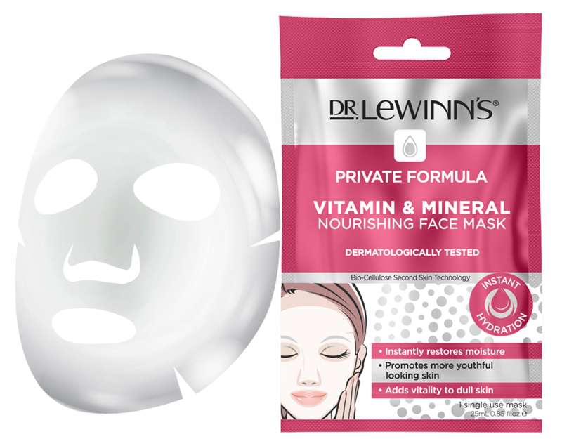 Private Formula Vitamin & Mineral Nourishing Face Mask